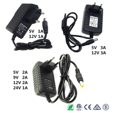 Power Adapter DC 5V 9V 12V 24V 1A 2A 3A Supply Adaptor 220V To 12 V Volt Charger 12V Power Supply Adapter 220V To 12V Led Lamp цена 2017