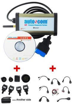 2020 Newest For Autocoms CDP Pro for Delphis DS150E New Vci Diagnostic Tool Plus OBD2+bluetooth+ full set car and truck cables цена 2017