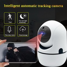HD 1080P/720P Cloud Wireless IP Camera Home Camera Security Surveillance System Home Office 64G Memory Card Night Vision 1/2MP