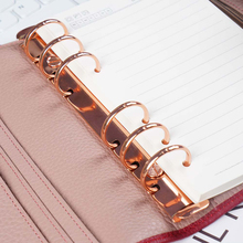 New Arrival Metal Spiral Rings Binder Clip With 2 Pairs of Screw For Diary Notebook Planner A5 A6 Persoanl A7 Binder Clip File