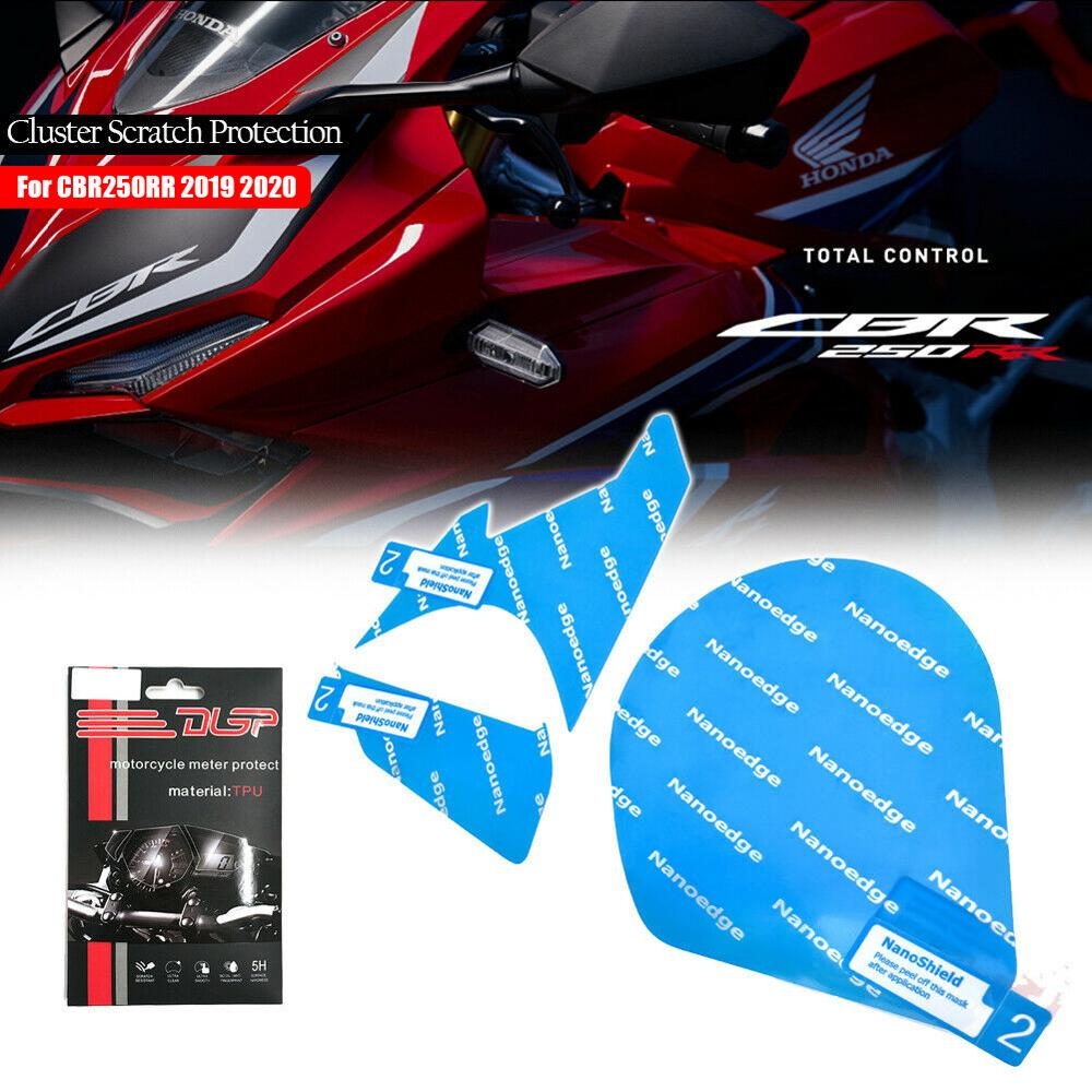 CBR 250RR Motorcycle Dashboard Cluster Scratch Screen Protection Film Protector For Honda <font><b>CBR250RR</b></font> 2019 2020 CBR 250 RR Speedo image
