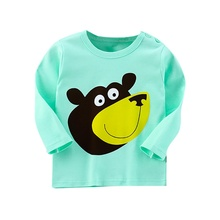 New Childrens Clothes Spring Autumn Long Sleeve T-shirt Casual Korean Style Girls
