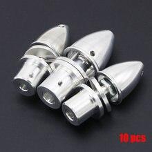 10 pièces/lot 2MM 3MM 3.17MM 4MM 5MM 6MM 8MM 10MM RC aluminium balle hélice adaptateur support pour Rc moteur sans balais accessoire livraison directe