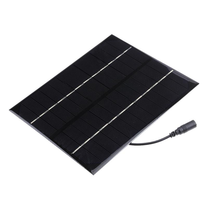 6W DC 12V Output Solar Power Panel Battery Charger Panel DIY Power Panel for emergency lights advertising lights traffic light
