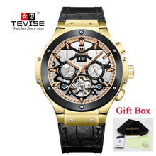 Tevise automatic mechanical watches for men