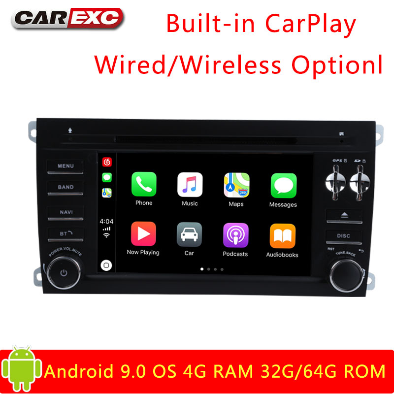 Clearance Android 9.0 Octa Core  Car DVD Player Stereo System For Porsche Cayenne With Canbus Wifi GPS Navigation Radio Carplay 0