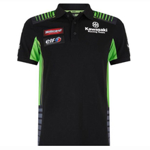 Motorcycle Polo Shirt for kawasaki Racing Team Cotton Polo T shirt Riding short sleeve Breathable Polo mokalu polo