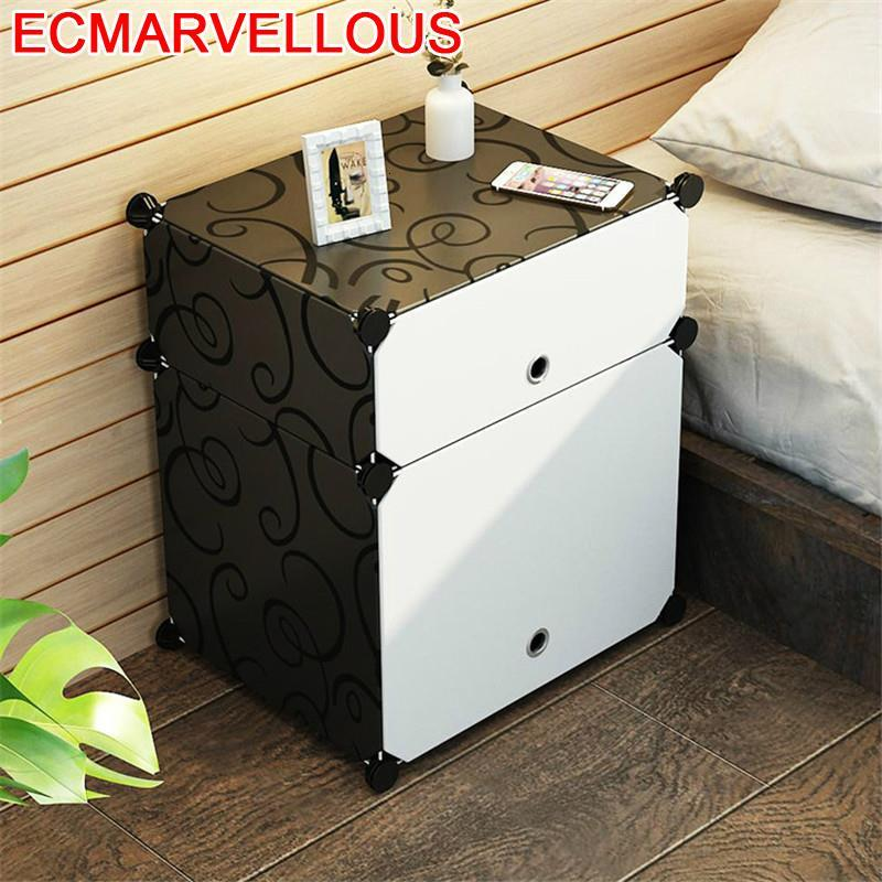 Night Stand Mesilla Comoda Cajones Mesita Noche Para El Mueble Dormitorio De Chevet Bedroom Furniture Cabinet Bedside Table