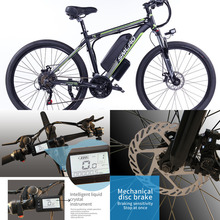 Use Samsung batteryTire size: 26/27.5/29 inch C6 F 48V 350W Electric Bike Electric High Speed Bike Electric E Mountain Bike With