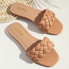Chinelos femininos de verão chinelos femininos com biqueira quadrada chinelos chinelos casuais chinelos de praia sapatos de alta qualidade.