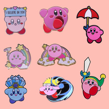 Cute Classic Cartoon Anime Enamel Brooch Pins Badge Lapel Pins Alloy Metal Fashion Jewelry Accessories Gifts