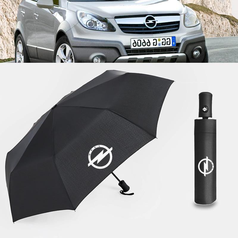 Car Auto Folding Venicle Business Umbrella For Opel Mercedes-Benz BMW Audi Porsche Maserati Bentley Lexus Toyota Logo Umbrella