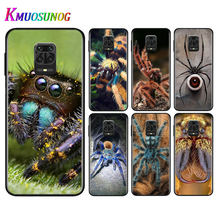 Silicone Black Cover Animal spiders For Xiaomi Redmi Note 9 9S Pro Max 8T 8 7 6 5 Pro 5A 4X 4 Phone Case Bag the little prince with fox silicone phone case for xiaomi redmi note 9 9s max 8t 8 7 6 5 pro 5a 4x 4 soft black cover