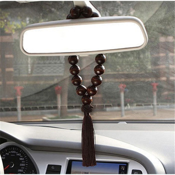 New wooden Buddha 21 beads car interior decoration for Audi BMW all series Mercedes-Benz all class A B C E S G M ML CL CLK CLS image