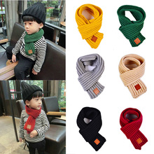 Fashion Winter 2018 Boy Scarf Warm Baby Girl Strong Soft Necklace Stretch Neck Ring