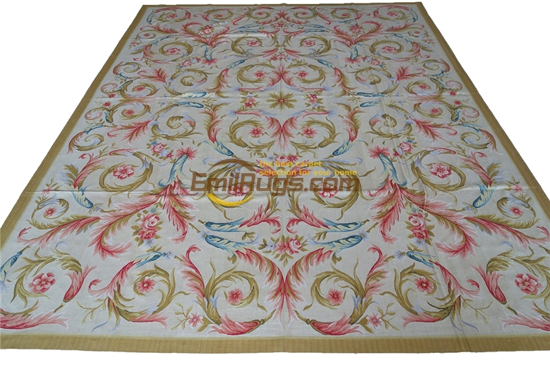 chinese silk rug Fine Chinese Hand-woven Antique  19th Century  Woven