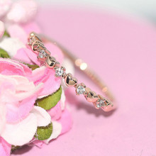 Zhouyang anel para as mulheres delicado fino amor bonito luz amarelo cor do ouro cz midi anel moda jóias presente para meninas r901