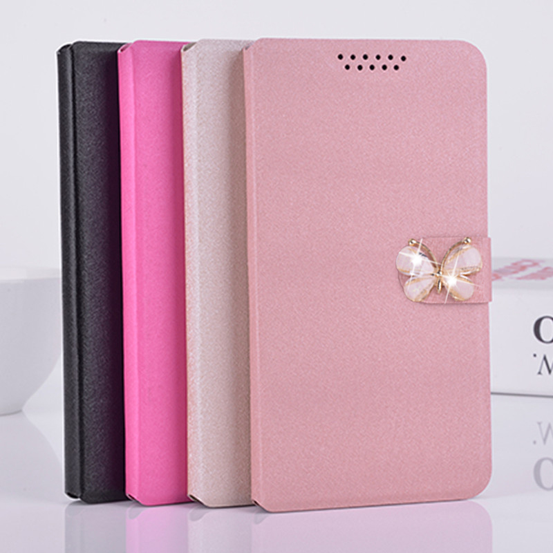 Luxury Leather Flip Cover for <font><b>ZTE</b></font> <font><b>V970M</b></font> V975 V985 V987 V993W Voyage 4S Z557 ZFive 2 LTE G C L LTE ZMax 2 Phone Case Wallet Cover image