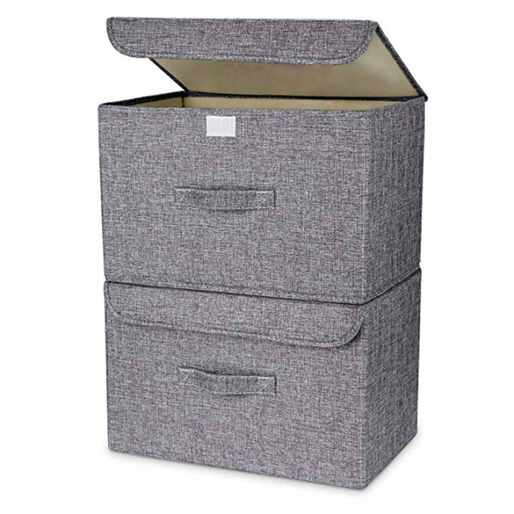 Foldable Basket Cubes Organizer Boxes Containers Drawers ...