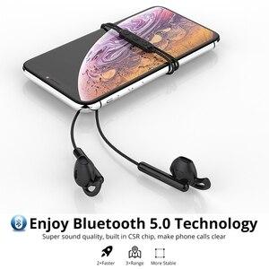 Image 2 - Langsdom E7 Sport Auricolari Senza Fili Mezza In ear Stereo Bluetooth Auricolare Auricolari Con Il Mic fone de ouvido bluetooth per telefono
