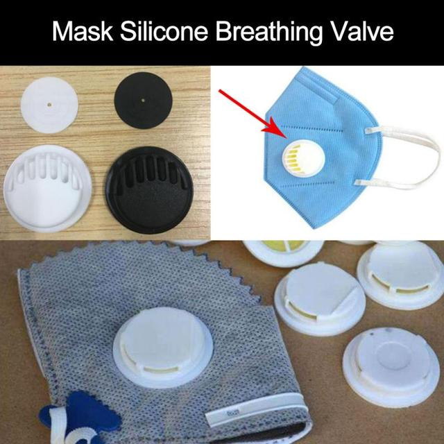 1/3/10 PCS Pm2.5 Air Dust Pollution PM 2.5 Smog Valve Activated Carbon Bicycle Riding Sports Breathing Mask Accessories Valve