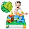 16*16 точек полый базовый лист большие кирпичи 25*25 см Двусторонняя Базовая пластина строительные блоки игрушки для детей подарок совместимые ...
