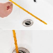 Сливной Змеиный очиститель Слива палочки для удаления засоров чистящие инструменты 44,5 см трубы инструменты для копания Бытовые аксессуары для кухонной раковины