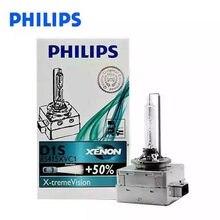 Frete grátis 1pc & 2 pces & 4 pces original philips lâmpadas de xénon automotivo d1s x-treme vision + 50% 85415 para-bmw, para-mercedes benz