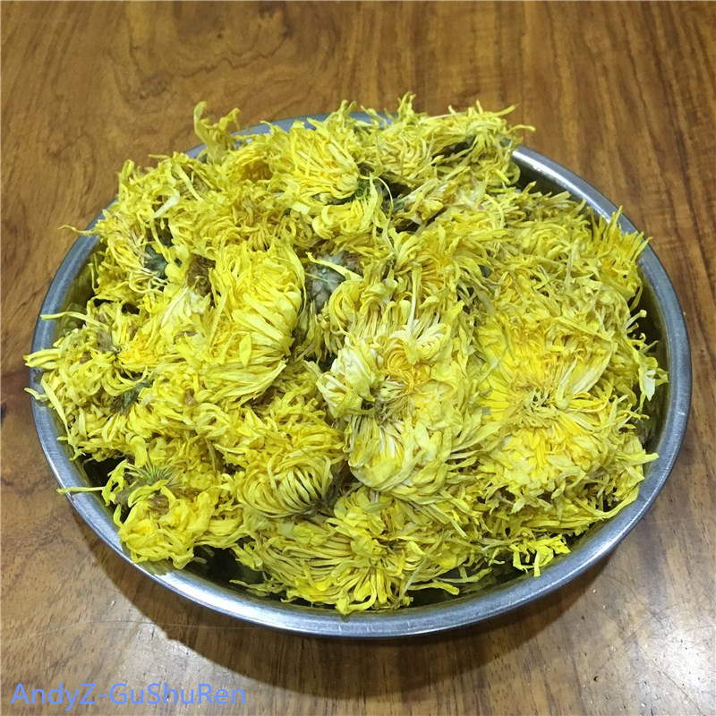 2020 5A Gold Wire Chrysanthemum Tea Fresh Natural Organic Flower Tea Green Food For Weight Loss Health Care Kung Fu Tea 1