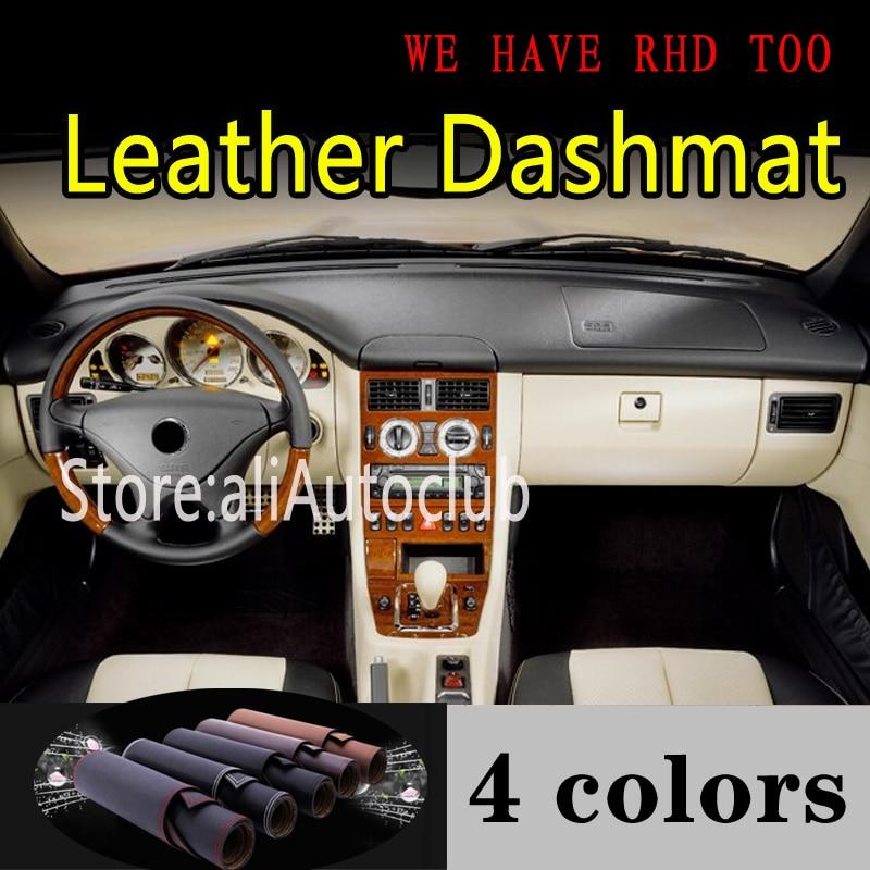 For Mercedes-Benz SLK Class G1 R170 200K SLK230K 280 300 350 1996-2004 Leather Dashmat Dashboard Cover Dash Mat Sunshade Carpet