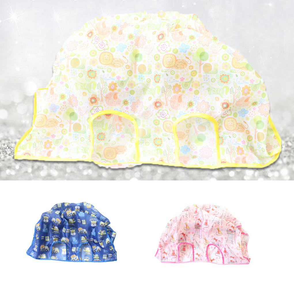 Foldable Baby Shopping Cart Cover Infant Cart Supermarket Cover Baby Seat Pad Anti-dirty Reusable Shopping Cover