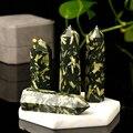 Натуральный камень хризантемы, 1 шт., шестигранная Хрустальная точка, высококачественный домашний минерал, Скандинавская полка, домашний де...