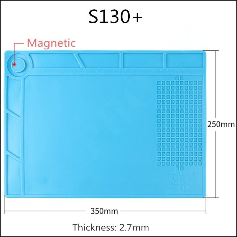 ESD Heat Insulation Working mat Soldering Station Iron Magnetic Phone Computer Repair Mat Heat-resistant BGA Insulator Platform