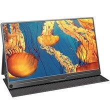 UPERFECT 13.3 Cal FHD Monitor HDR 1920X1080 IPS type-c ekran wyświetlacz przenośna gra Dsiplay PS4 Raspberry komputer stancjonarny