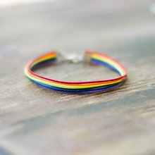 Rainbow Style Braided Fashionable Charm Bracelet Female Engagement Bangle Bracelets For Women Jewelry Gifts