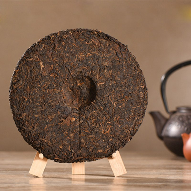 Made in 1999 Ripe 357g Yunnan Pu-Erh Tea Prevent Arteriosclerosis 2