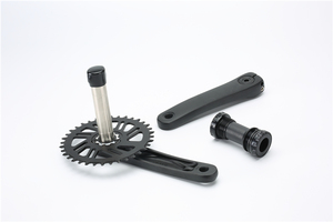 Image 5 - Bicycle Crankset 170mm Crank 1XSystem Bike Chainwheel 104 BCD Narrow Wide Chainring 34T 36T 12 Speed For MTB Mountain Bike