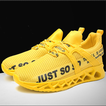 Damyuan Mens Women's Casual Shoes Rubber Sole Comfortable Inner Soles for Shoes Hiking Sports Shoe Male Yellow Workout Sneakers casual shoes sports shoes thick sole solid color simple versatile comfortable durable women s shoes sneakers