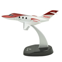 TANG DYNASTY(TM) 1:72 HondaJet Metal Commercial Aircraft Jet Airplane Model Diecast Plane for Commemorate Collection or Gift