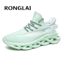Men Luminous Casual Shoes Women Fashion Sneakers Breathable Warm Lightweight Lac
