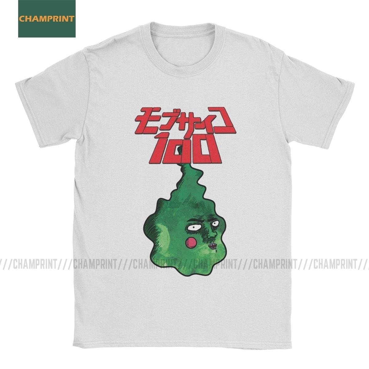 Anime Mob Psycho 100 t-shirt Short Sleeve Men and Women Free Shipping