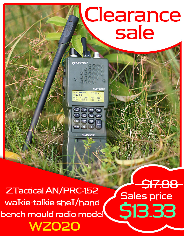Z.Tactical AN/PRC-152 Walkie-talkie Shell/hand Bench Mould Radio Model Z020