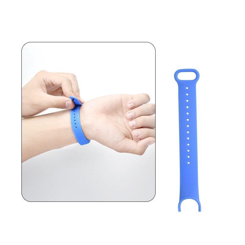 Band Voor Xiaomi Mi Band 5 4 3 Sport Polsband Siliconen Armband Mi Band 3 4 Band5 Vervanging Bandjes Voor mi Band 5 Horloge Band 6