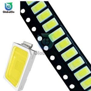 100 stücke/Lot 5730 0,5 W 50-55lm 6500K 6050-7000K Weiß Licht SMD 5730 LED 5730 dioden (3.3 ~ 3,6 V) weiß Licht LED-Chip Lampen