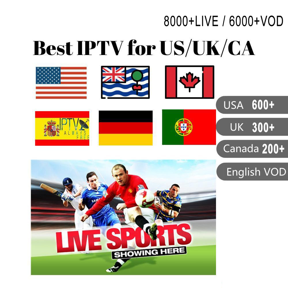 GOTiT Italy IPTV Subscription 6000+Live Super Italia Germany Italian Albania Turkey Adult For M3U Android Enigma2 Smart TV Box