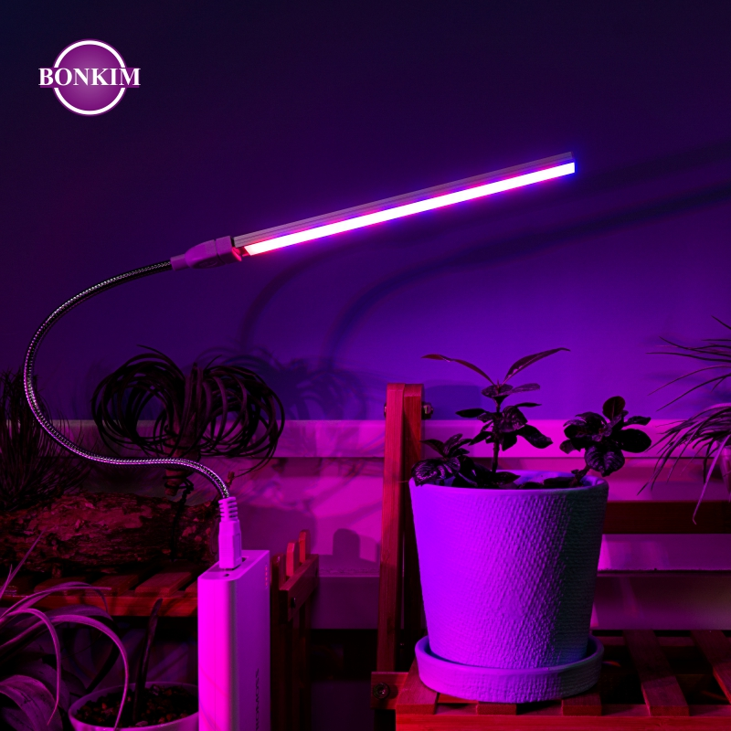 LED USB Grow Lamp Full Spectrum DC 5V 3W 5W Suitable Home Office Indoor Young Plants Imitating Sunlight IR UV Growing Phyto Lamp(China)