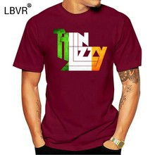 THIN LIZZY IRISH FLAG T SHIRT Casual T-Shirt Male Short Sleeve Pattern 2018 New Fashion Men'S Top Tee Hipster(China)