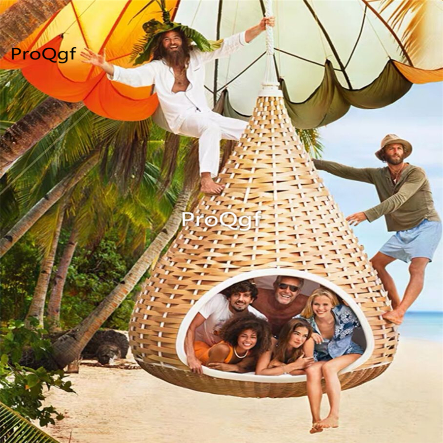 Ngryise 1 Set  minshuku bird nest swing hanging chair ins style