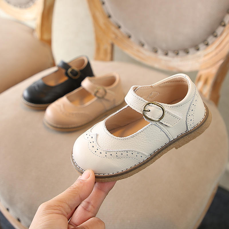 Children's Shoes Toddler Shoes Soft Bottom Children's Leather Shoes 2020 Spring New Colorful Casual Performance Shoes