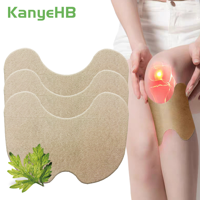 6pcs Knee Medical Plaster Wormwood Extract Joint Ache Pain Relieving Sticker Rheumatoid Arthritis Body Pain Patch A176
